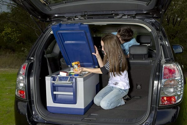 portable refrigerators for cars or boats