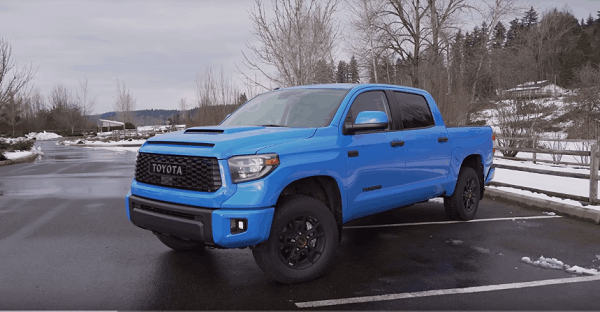 Tundra with lift and level kit