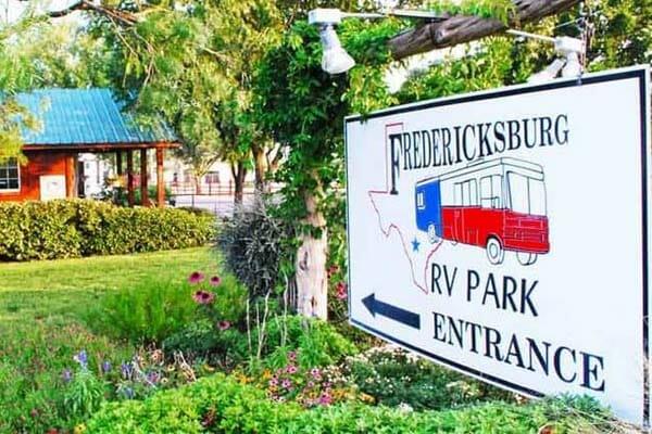 Fredericksburg RV Park Texas
