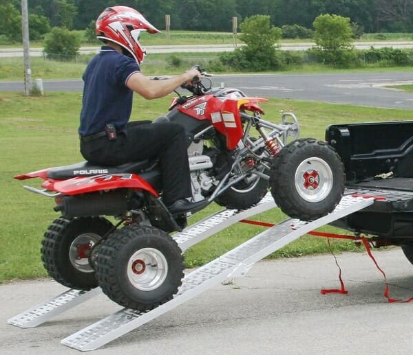 you need the right atv ramps