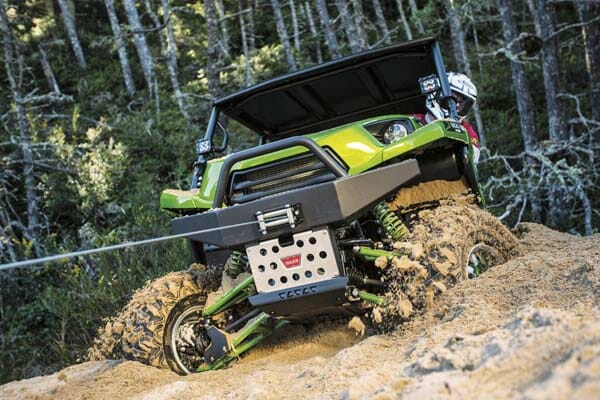 ATV Winches can get you out of bad spots