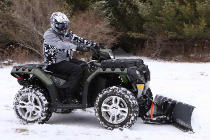 How easy is it to look after my ATV Snow Plow