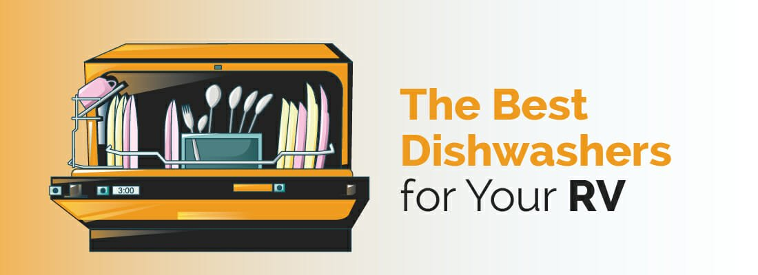 Portable, Countertop and Under cabinet dishwashers for your RV