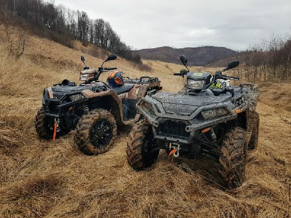 mowers for an atv