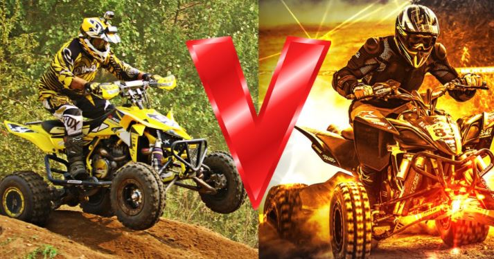 Difference Between ATVs and Quads