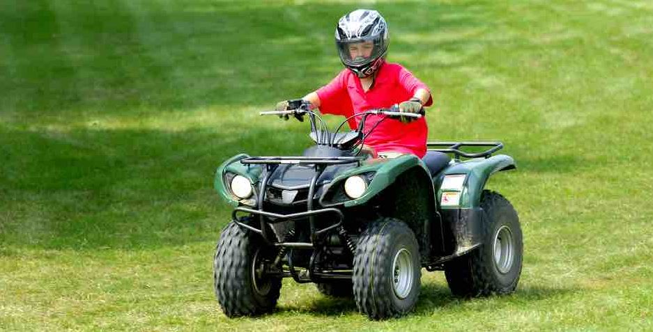 The 'aggressively test the ATV' riders