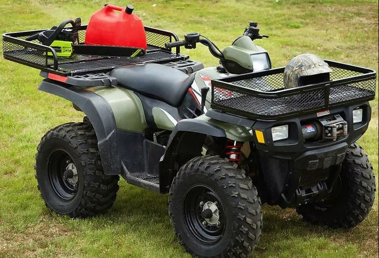 Popular Front and Rear Drop ATV Baskets