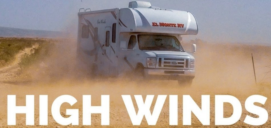 How to Drive an RV in the Wind