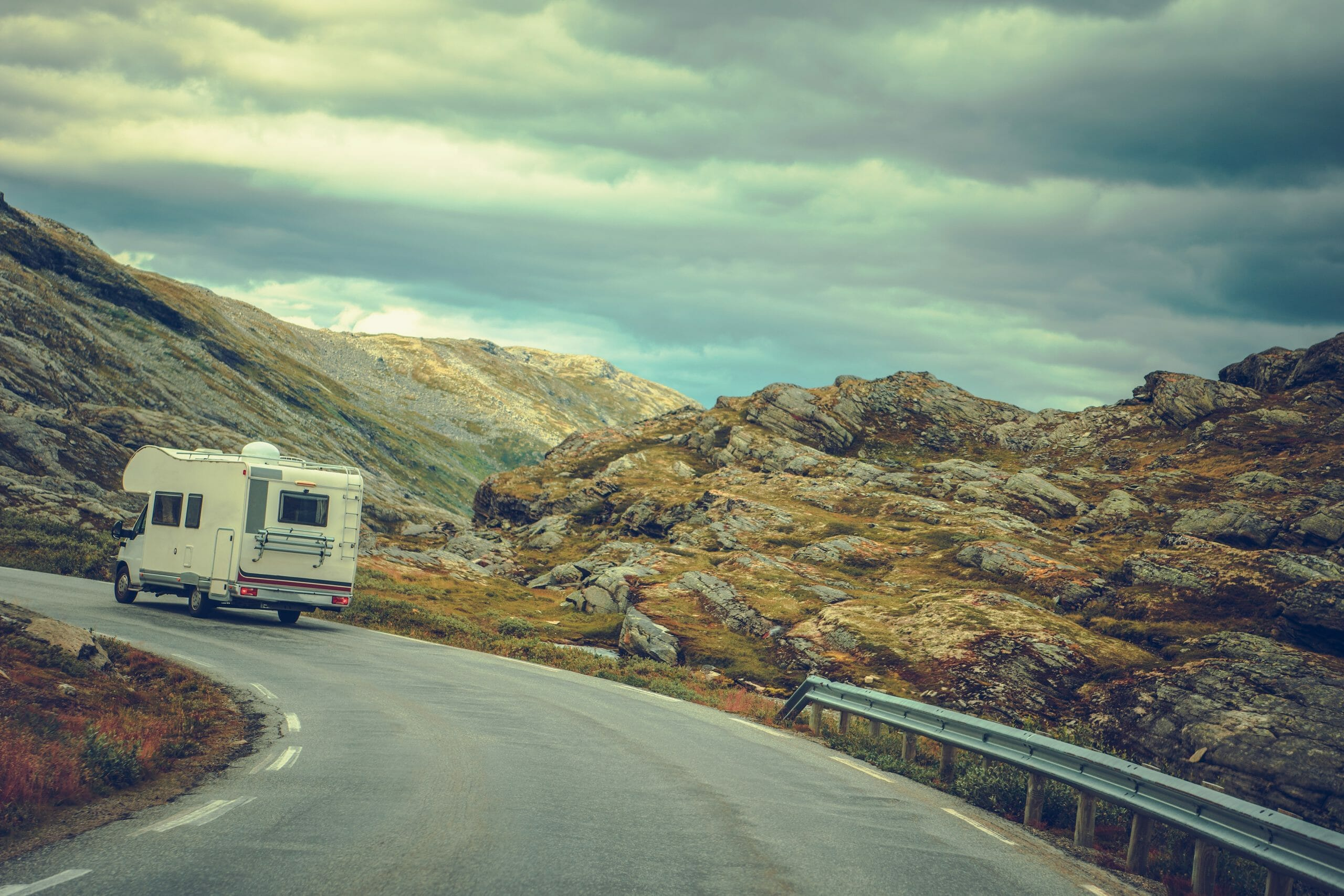 Driving an RV in the Windy Mountains
