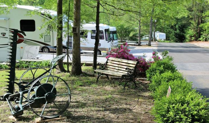 Campgrounds at Barnes Crossing