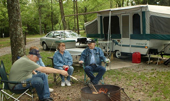 D & W Lake Camping and RV Park