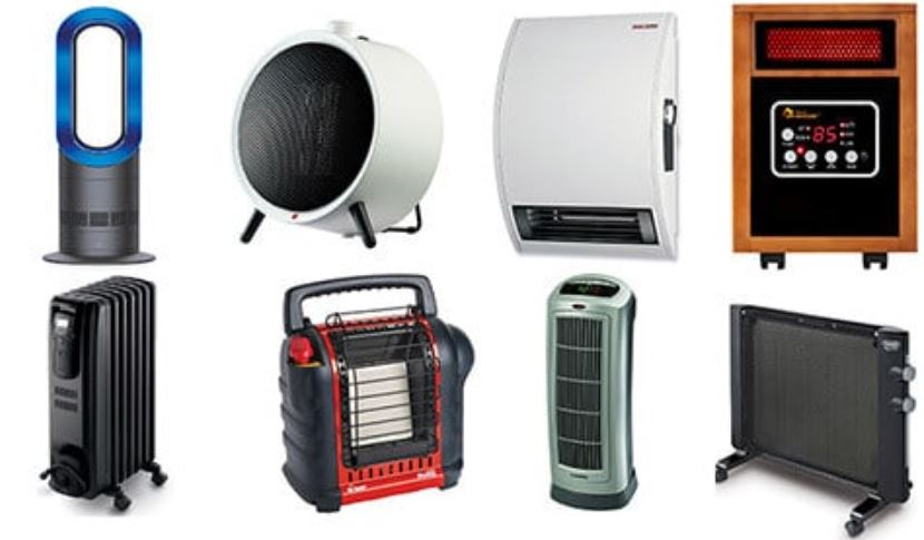 Different Types of Heaters