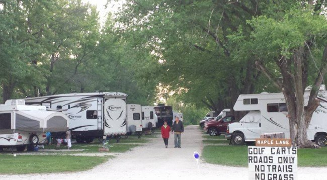Galesburg East Campground, Knoxville