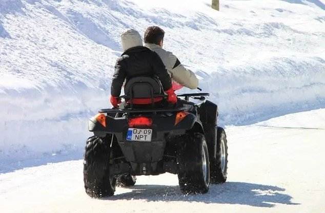 Driving Your ATV in Winter