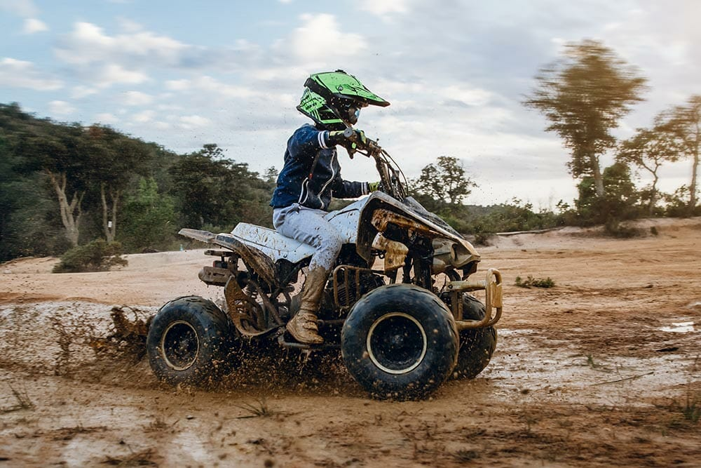 Can a 12 year old drive an ATV