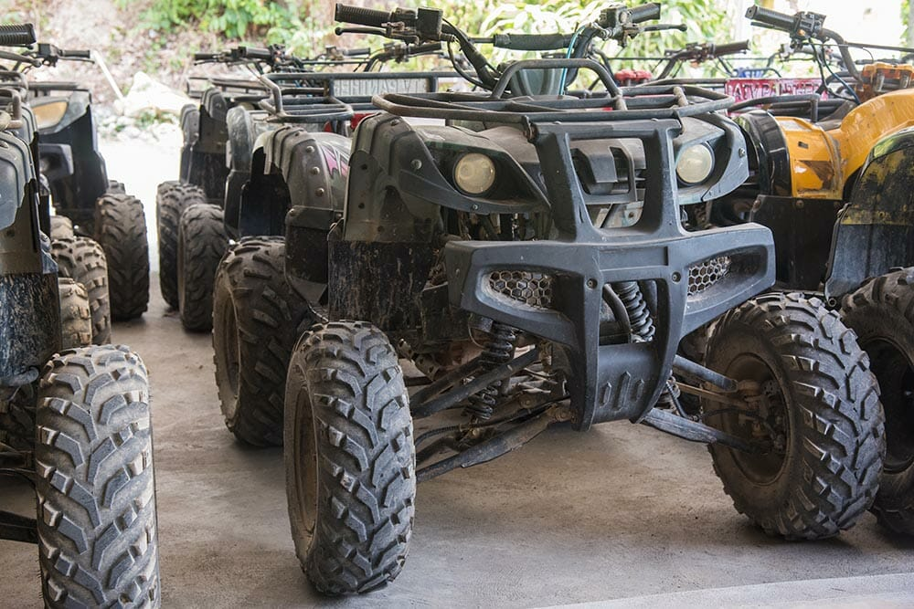 Can you pull start an atv without a battery