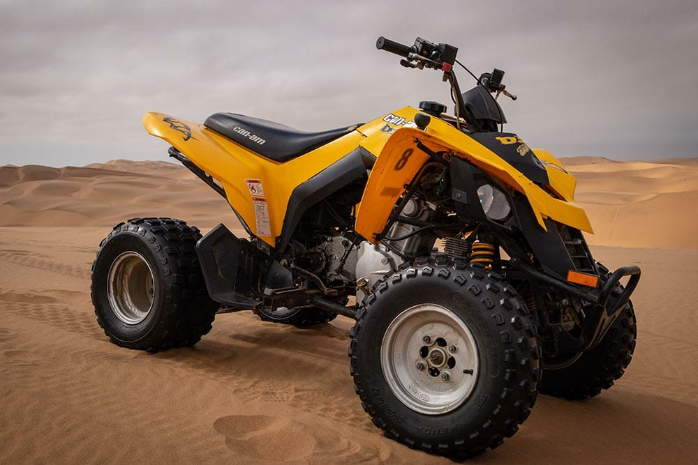 Do ATVs have gears