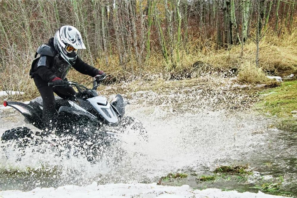 Can ATVs Get Wet?