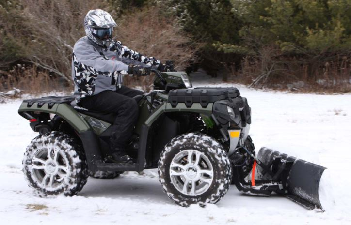 Can you put a snowplow on an ATV