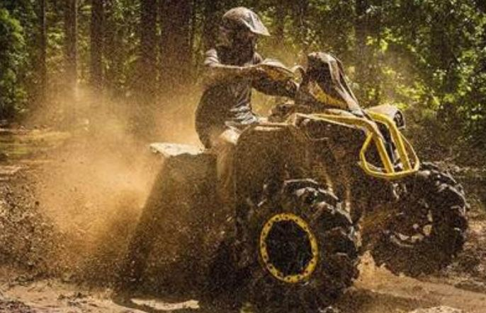 Can you ride an ATV in the rain