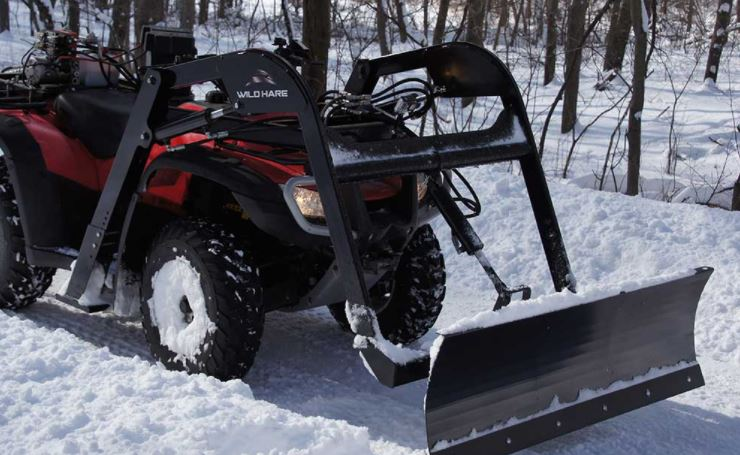 How much is a snowplow for an ATV