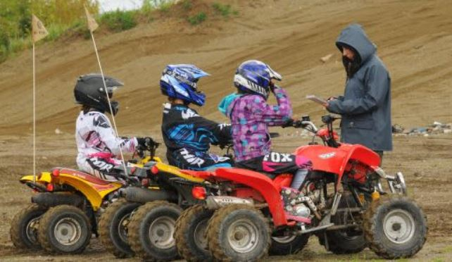 How old should a child be to ride an ATV