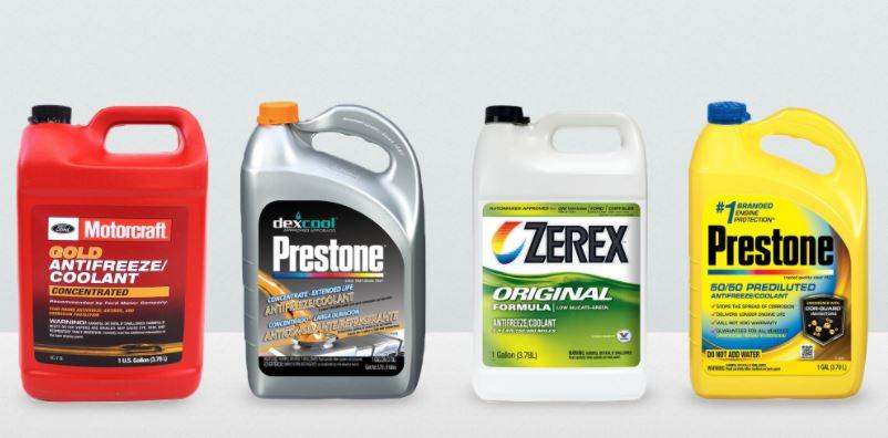 Antifreeze Types