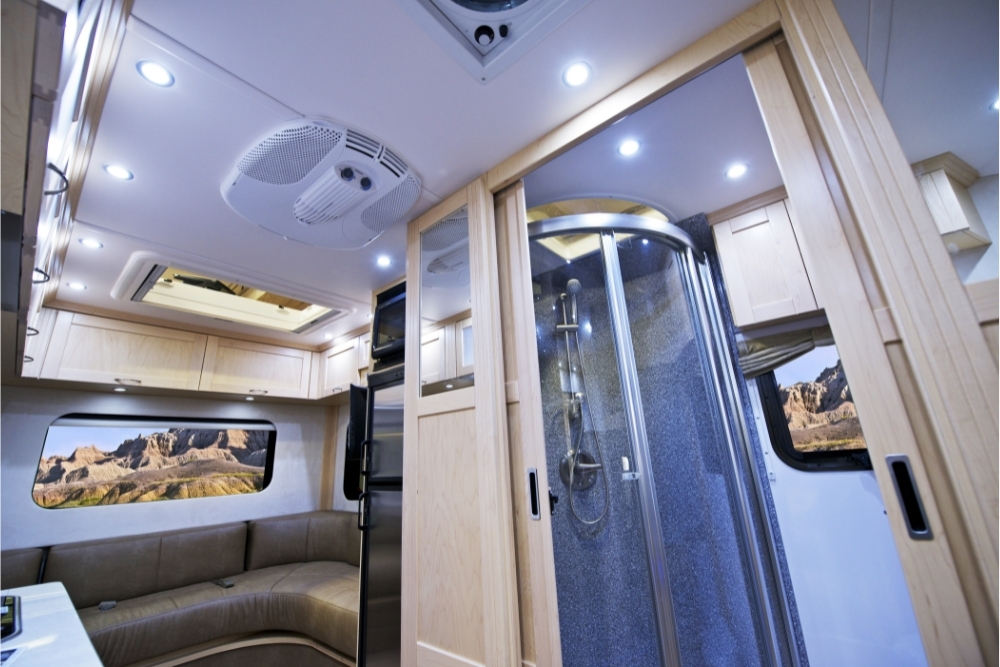 Can I use a regular shower curtain in an RV?