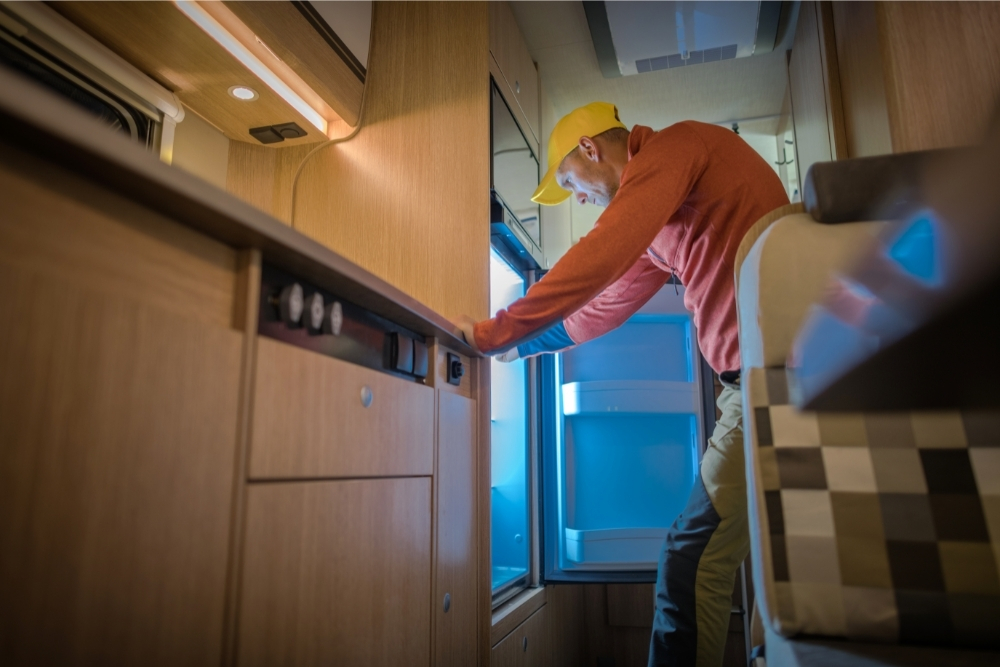 How Do You Keep Things Down In An RV
