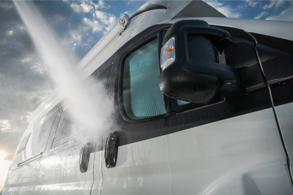 What Can I Use To Clean The Outside Of My RV?