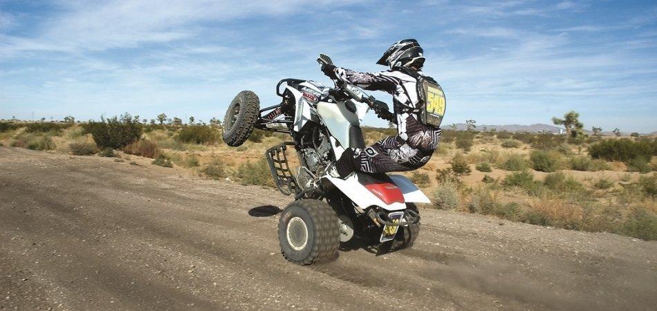 How to do Wheelie on a Quad